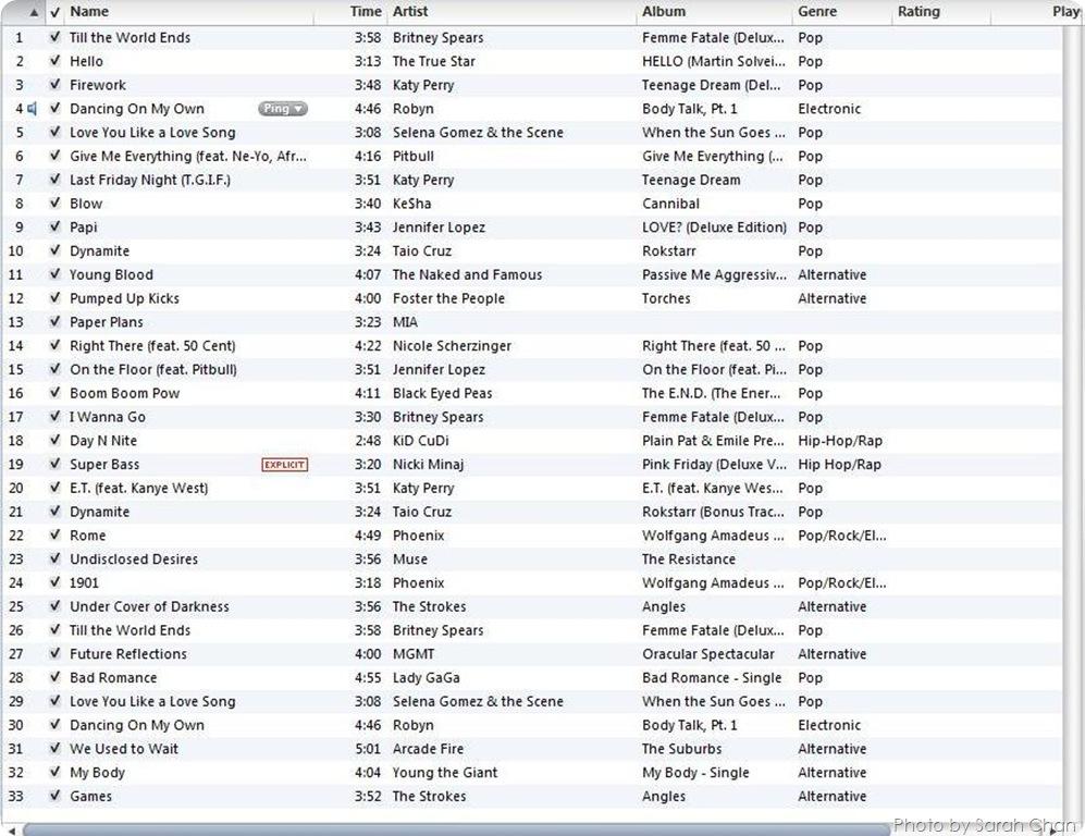 NWM 13.1 Playlist